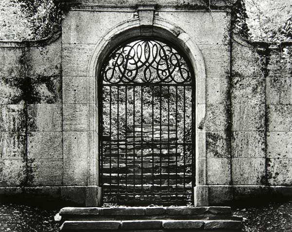 Dumbarton Oaks Estate Gate by Bruce Zander | ArtworkNetwork.com