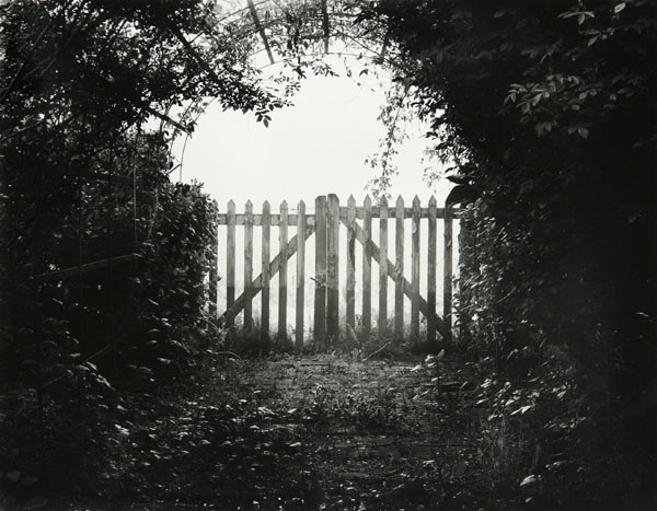 Gate (Château de Chambiers France) by Bruce Zander | ArtworkNetwork.com