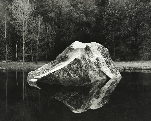 Mirror Lake Rock (Yosemite National Park) by Bruce Zander | ArtworkNetwork.com