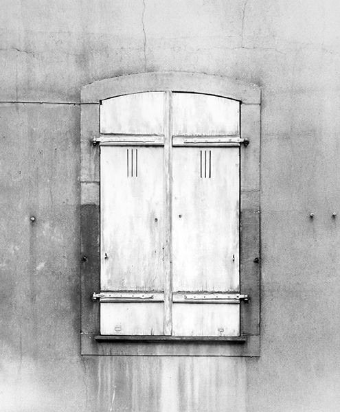 Shut Window (France) by Bruce Zander | ArtworkNetwork.com