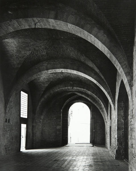 Archway (Gubbio Italy) by Bruce Zander | ArtworkNetwork.com