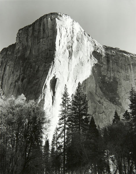 Morning on El Capitan (Yosemite National Park) by Bruce Zander | ArtworkNetwork.com