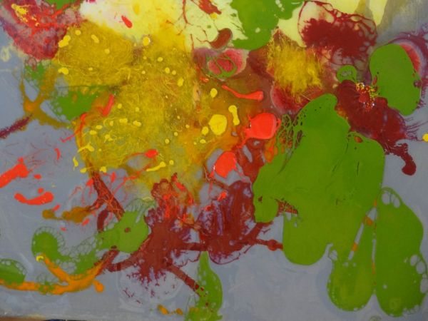 Your Brain on Spring by Paula Hudson | ArtworkNetwork.com