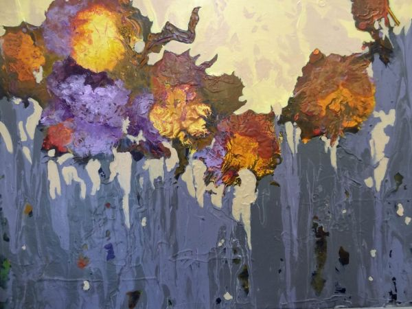Last Blooms of the Year by Paula Hudson | ArtworkNetwork.com