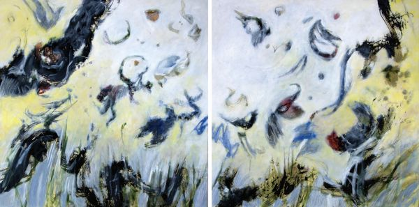 Moment III (Diptych) by Tadashi Hayakawa | ArtworkNetwork.com