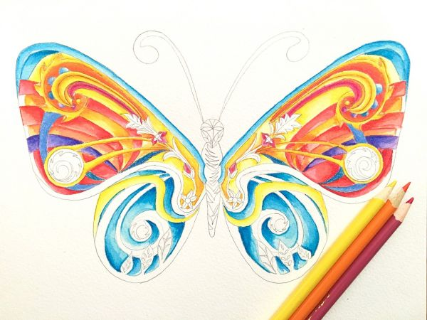 Butterfly 5 by Nadia Lee | ArtworkNetwork.com