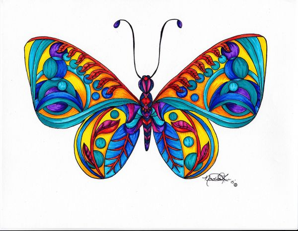 Butterfly 2 by Nadia Lee | ArtworkNetwork.com