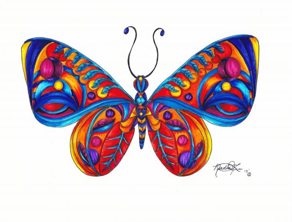 butterfly 3 by Nadia Lee | ArtworkNetwork.com