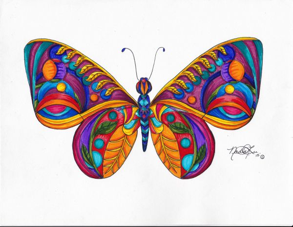 Butterfly 1 by Nadia Lee | ArtworkNetwork.com