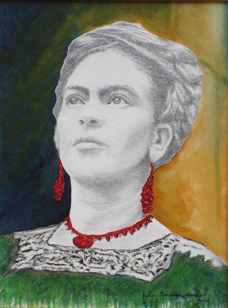 "frida kahlo – ""que hermosa"" by Julian Orosco 