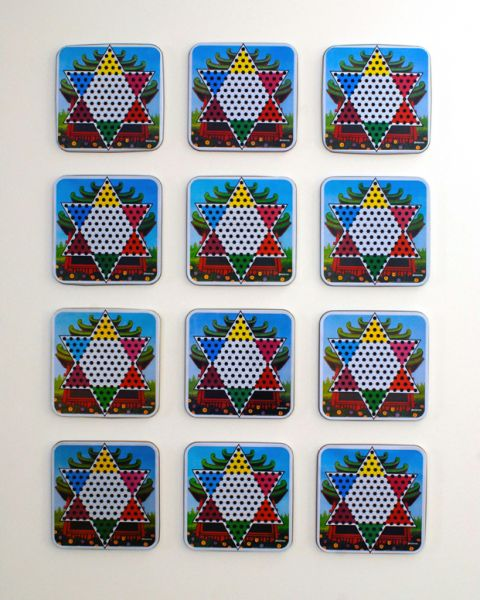 chinese checker board by Phil Bender | ArtworkNetwork.com