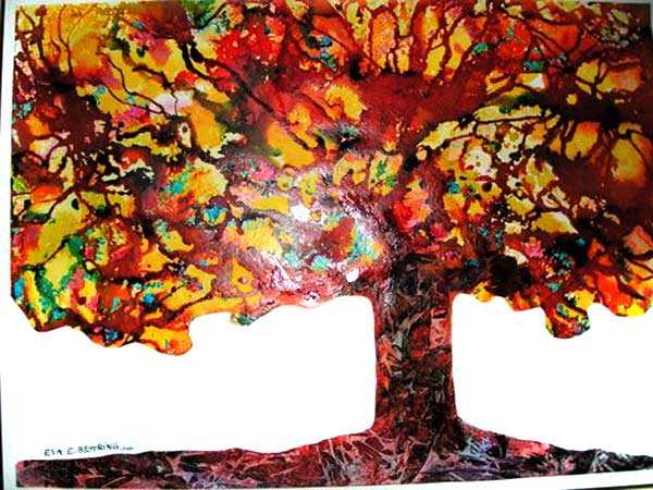 bodhi tree series III by Eva Behring | ArtworkNetwork.com