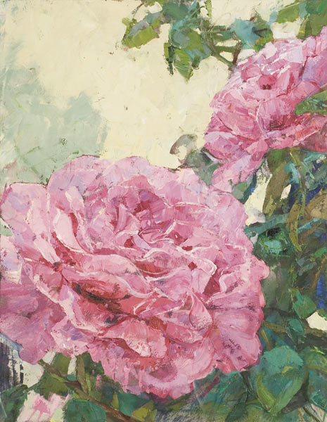 what god said to the rose he said to your heart by Grace Boudreau | ArtworkNetwork.com