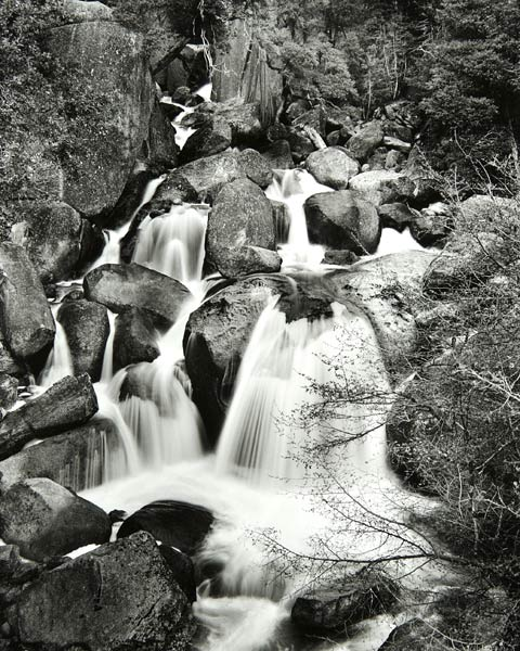 Cascade Creek Falls (Yosemite National Park) by Bruce Zander | ArtworkNetwork.com