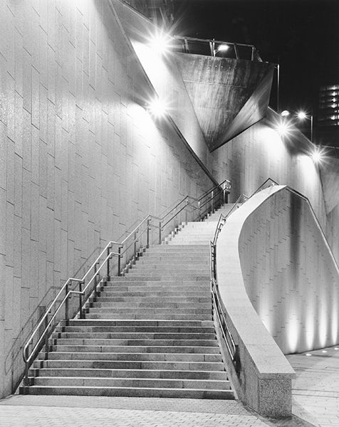 Night Stairs (Spain) by Bruce Zander | ArtworkNetwork.com