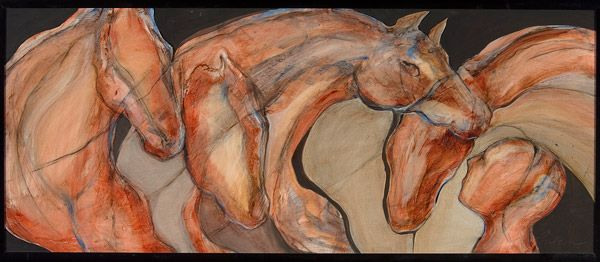 horse whisperer by Karen Poulson | ArtworkNetwork.com