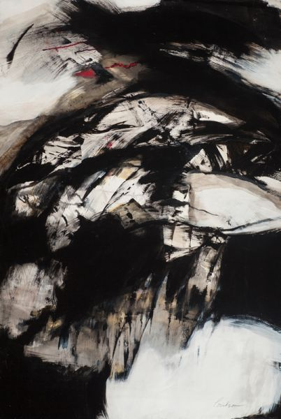 Expressions In Black and White by Karen Poulson | ArtworkNetwork.com