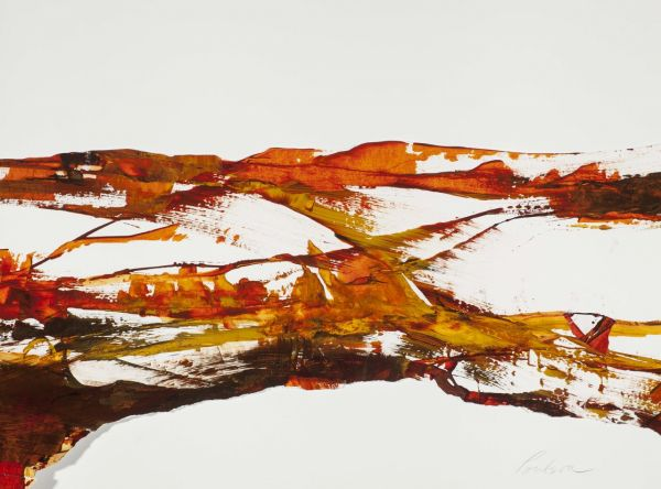 land forms III by Karen Poulson | ArtworkNetwork.com