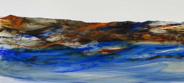 Water's Edge I by Karen Poulson | ArtworkNetwork.com
