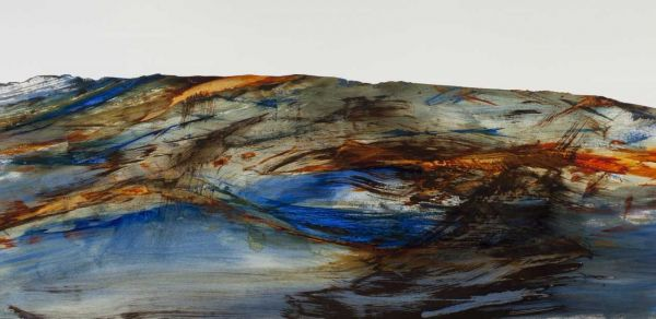 Water's Edge II by Karen Poulson | ArtworkNetwork.com