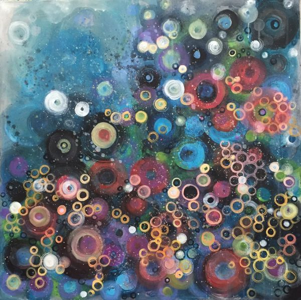 My Favorite Circles by Laurie Maves | ArtworkNetwork.com