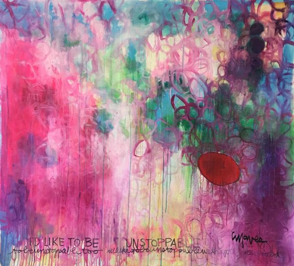 I'd Like to Be Unstoppable by Laurie Maves | ArtworkNetwork.com
