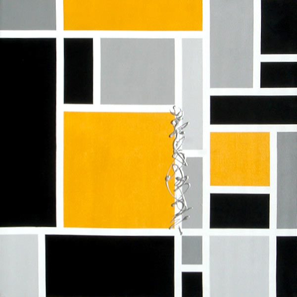 eccentricity (triptych) by Anina Hathaway | ArtworkNetwork.com