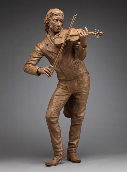 paganini (life size) by Sutton Betti | ArtworkNetwork.com