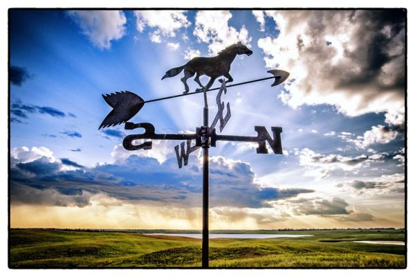 Need Directions (Rugby North Dakota) by Scott Takeda | ArtworkNetwork.com