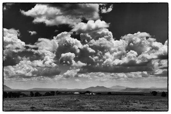 Heading Home (Raton Pass New Mexico) by Scott Takeda | ArtworkNetwork.com