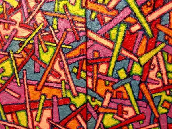 Pick Up Sticks by Mike Giese | ArtworkNetwork.com