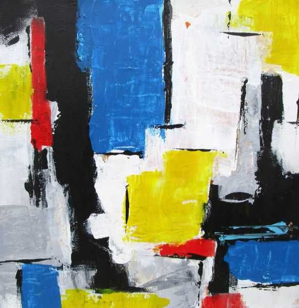 It's A Square Life V by Marie-Luise Vaughn | ArtworkNetwork.com