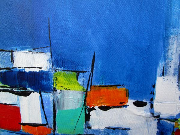 It's A Square Life VII by Marie-Luise Vaughn   ArtworkNetwork.com