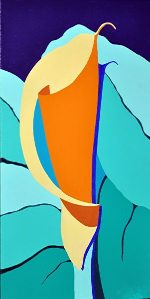 calla lily 1 by Phyllis Clark | ArtworkNetwork.com