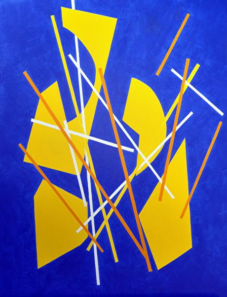 Pick Up Stix 1 by Phyllis Clark | ArtworkNetwork.com