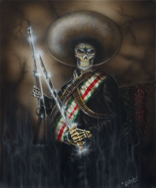 zapata's revenge by Tony Ankele | ArtworkNetwork.com