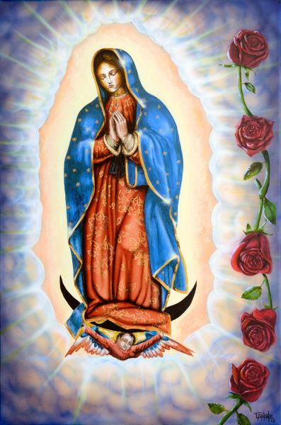 our lady of guadalupe by Tony Ankele | ArtworkNetwork.com