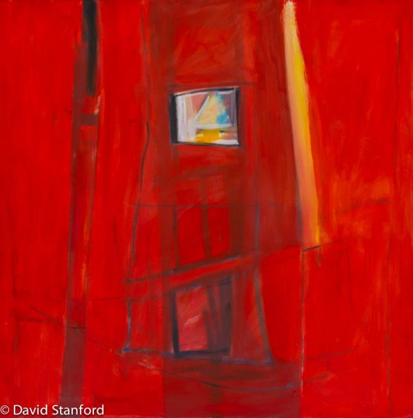 view from inside the inferno by David Stanford | ArtworkNetwork.com