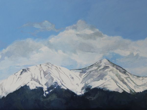 Morning on Mt Shavano by Maggie Rosche | ArtworkNetwork.com