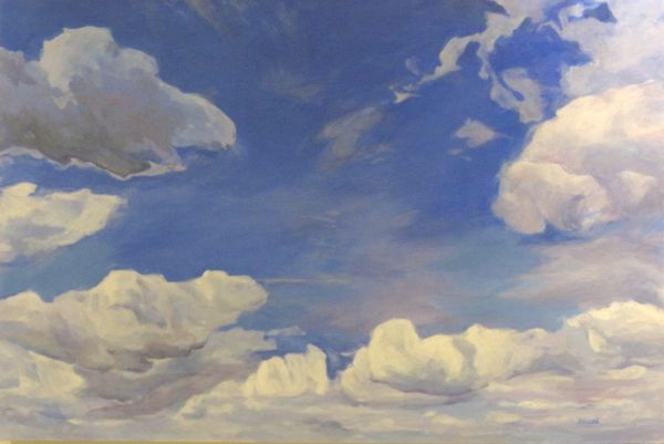Summer Skies by Maggie Rosche   ArtworkNetwork.com
