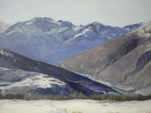 The Rockies Are Calling by Maggie Rosche | ArtworkNetwork.com