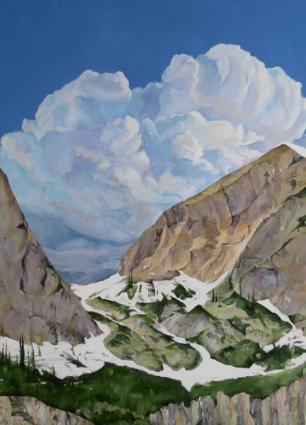 Pass to the Clouds by Maggie Rosche | ArtworkNetwork.com