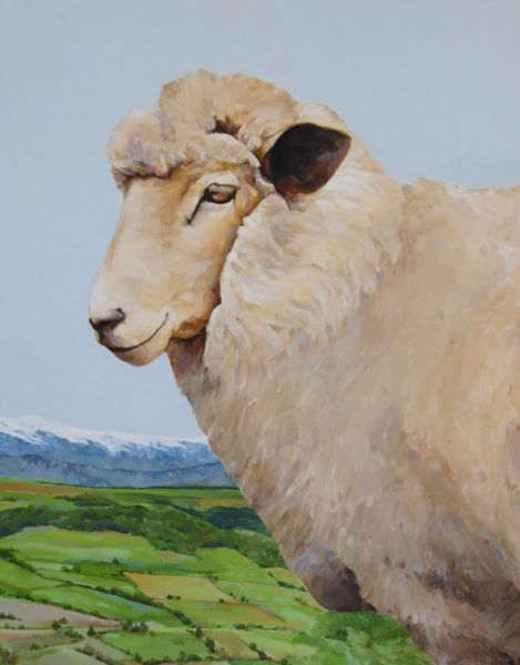 Lofty Vision Over Yampa Valley by Maggie Rosche | ArtworkNetwork.com