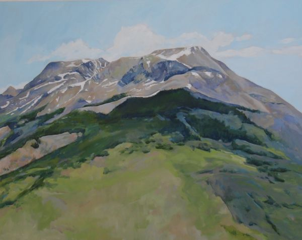 Cathedral Mountains by Maggie Rosche   ArtworkNetwork.com