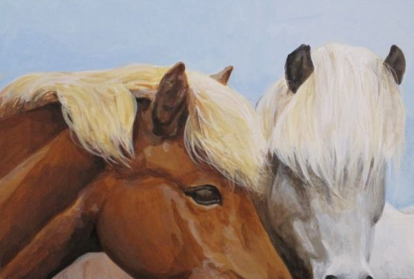 Horse Whisperer by Maggie Rosche | ArtworkNetwork.com