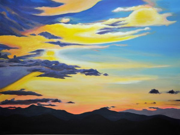Golden Twilight by Amanda Stavast | ArtworkNetwork.com