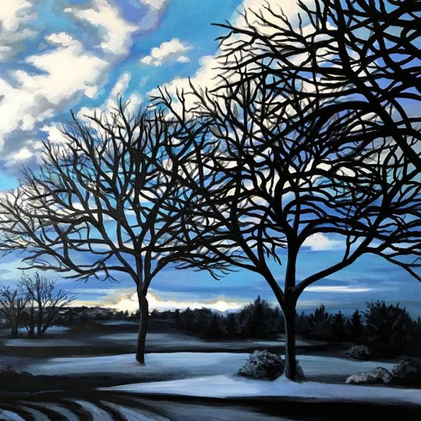 Alameda Winter by Amanda Stavast | ArtworkNetwork.com