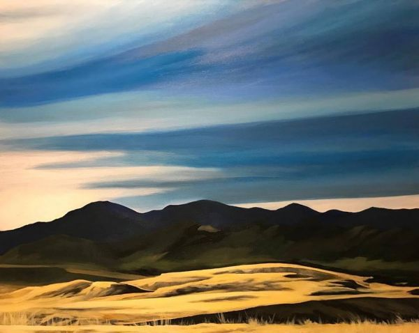 Prairie of Gold by Amanda Stavast | ArtworkNetwork.com