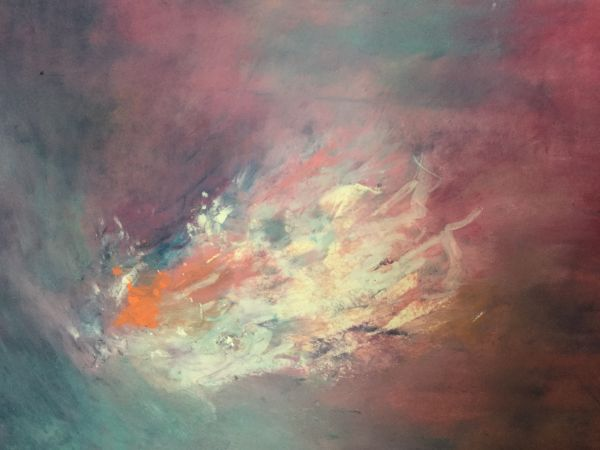 Stars Through the Sheet of Clouds VI by Barb Hinnenkamp | ArtworkNetwork.com