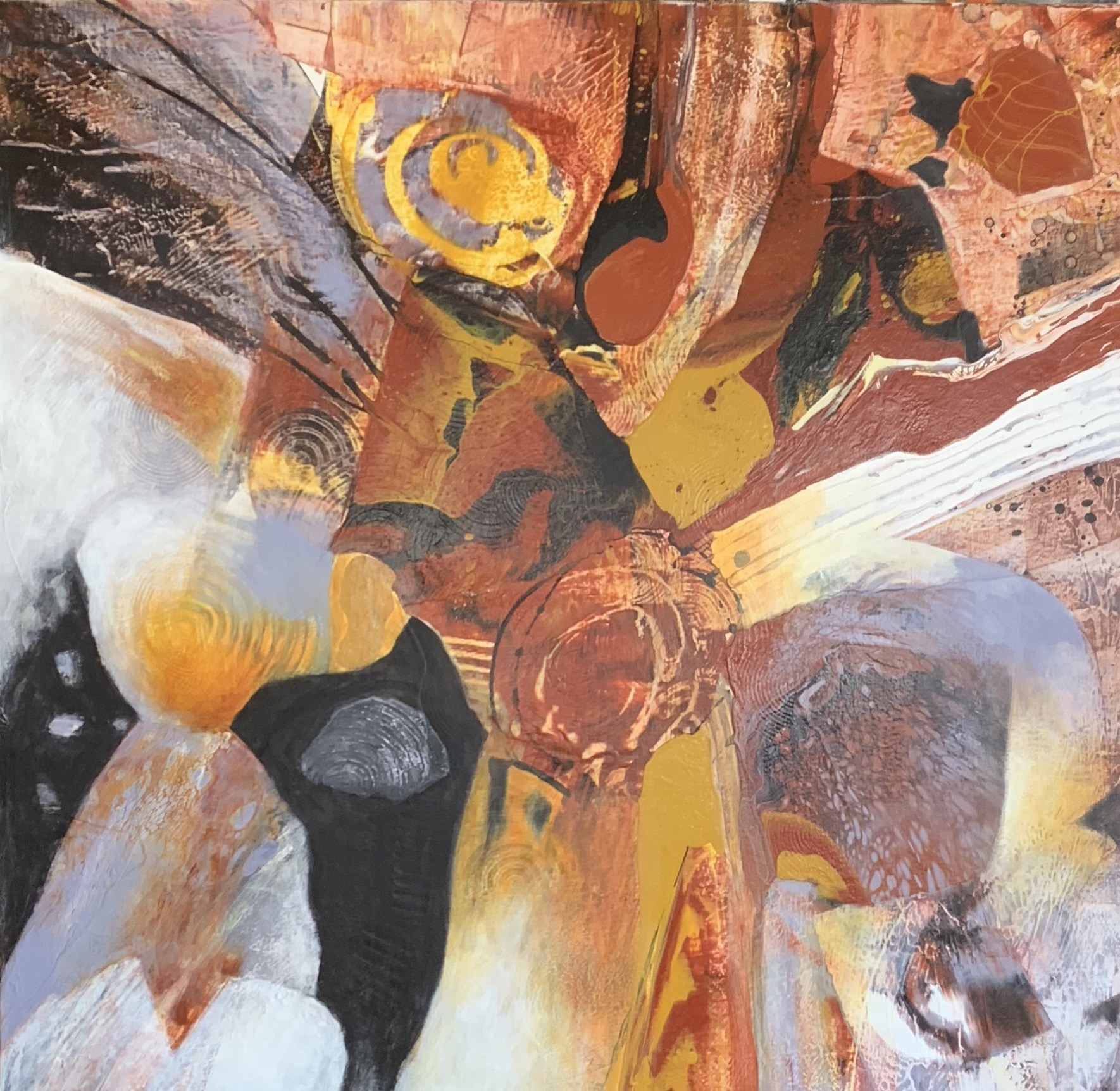 The deep of Africa II by Ulla Meyer | ArtworkNetwork.com